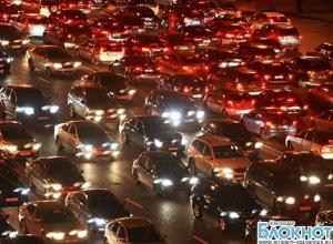Самая длинная пробка в Краснодаре продержалась более пяти часов