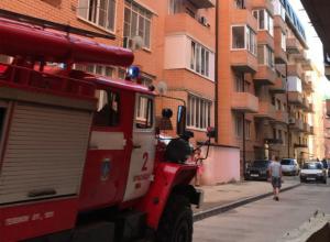 В Музыкальном микрорайоне Краснодара снова произошел пожар