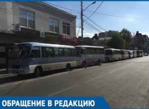 Пашковский в Краснодаре остался с одной маршруткой и дикими очередями