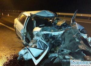 В Краснодарском крае на автодороге «Дон» в аварии погиб человек