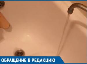 «Горячую воду отключили, а на холодную страшно смотреть», - жительница Краснодара
