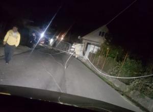 Водитель устроил ДТП и оставил целый поселок в Сочи без света