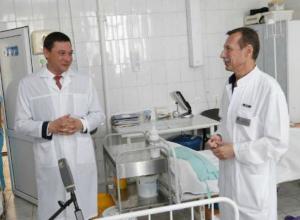 Мэр Краснодара пришел в роддом, чтобы поздравить мам «везунчиков»