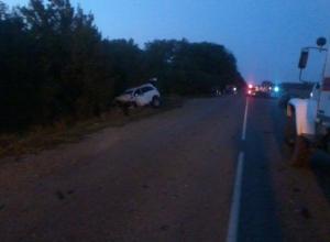 В Краснодарском крае при столкновении трех автомобилей погибли пять человек