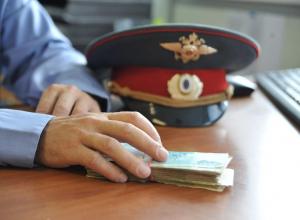 Полицейские попались на взятке во время банкета в Краснодаре