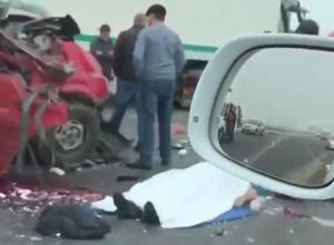 Пассажир погиб в ДТП с большегрузом на Кубани