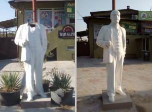 «Ленину вернули голову»: в Краснодарском крае починили памятник вождю