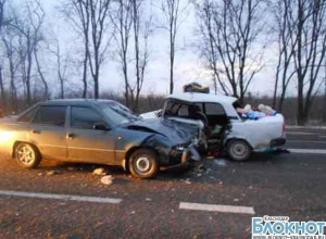Авария на автодороге «Кавказ» на Кубани: 4 пострадавших