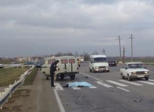 В Краснодаре 21-летняя девушка насмерть сбила пешехода