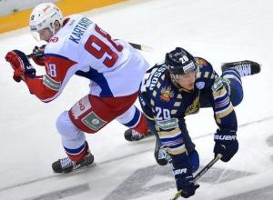 Сочинские «леопарды» проиграли в хоккейном матче ярославскому «Локомотиву»