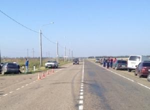 В Краснодарском крае в аварии были травмированы пять человек