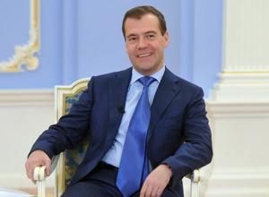 Губернатор Кубани поздравил премьер-министра Медведева с днем рождения