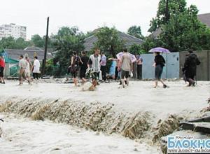 Синоптики прогнозируют сильные дожди на Кубани