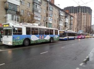 Из-за аварии в Краснодаре встали троллейбусы