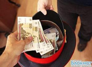 Кубанский инспектор вымогал у провинившегося водителя 170 тысяч рублей
