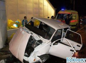 В Сочи при въезде в тоннель автомобиль врезался в стену