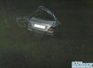 В ДТП под Краснодаром погибло два человека