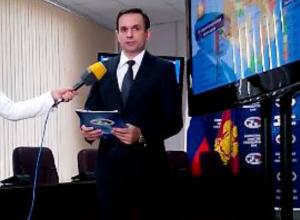 Глава избиркома Кубани на видео рассказал о ходе голосования