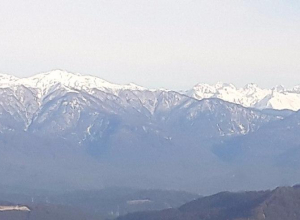 В Сочи закроют въезд в горы автомобилям на летней резине