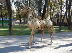 «Механическая кобыла» стала новой достопримечательностью Краснодара