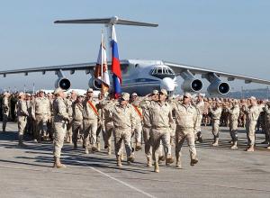 Военные Краснодарского края возвращаются из Сирии домой