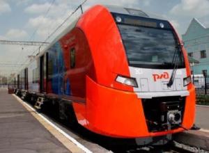 «Ласточка» на маршруте Ростов-на-Дону - Новороссийск перевезла уже 9 тысяч пассажиров