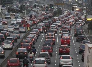 Синяя разметка: веселей стоять в пробках будет водителям Краснодарского края