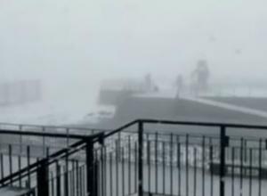 Аномальная погода: в горах Сочи в середине июня выпал снег