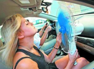 Сотрудники ГАИ попросили не выезжать автомобилистов в жару