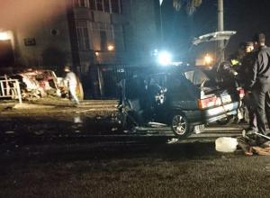 Гидравлический инструмент применили спасатели для эвакуации пострадавших в ДТП в Сочи