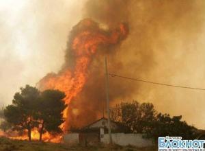В Мостовском районе из-за неисправного дымохода сгорел дом