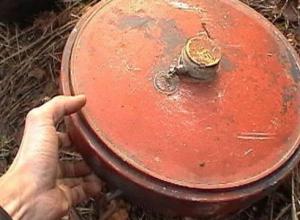 В Краснодаре эвакуировали людей из-за опасной мины