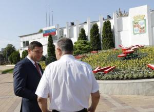 В честь Дня города в Краснодаре запустили цветочные часы