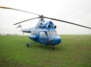 Вертолет распылял химию над кубанскими полями без разрешения