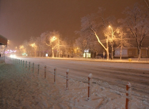 На Кубани первый снег сопровождается экстренными предупреждениями