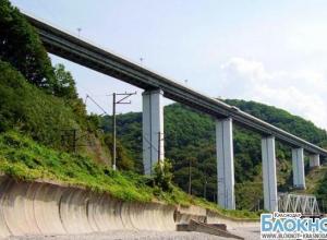 В Краснодарском крае на ремонт закрыли самый высокий мост в России
