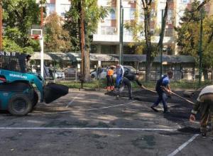 Да будет спорт: ремонт баскетбольных площадок в Краснодаре скоро завершат