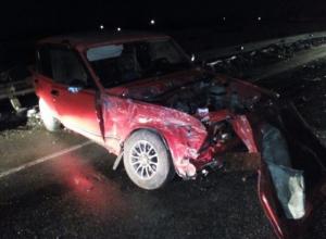 Двух человек госпитализировали после жесткого ДТП в Крымском районе