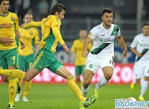 «Кубань» одержала первую победу на групповом этапе Лиги Европы