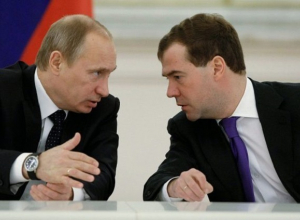 Медведев в Сочи представил Путину предложения по структуре правительства