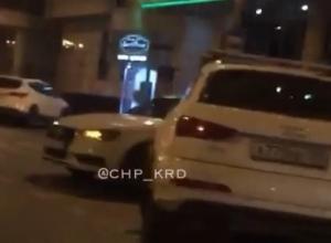 «Ауди притягиваются», - краснодарцы об аварии с участием двух иномарок