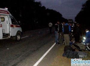 В Краснодарском крае пьяный полицейский из Ставрополя въехал в трактор