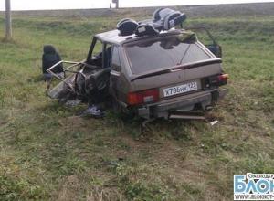 В Усть-Лабинском районе столкнулось четыре автомобиля