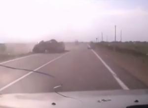 Появилось видео жуткой аварии в Белореченском районе, унесшей жизни 9 человек