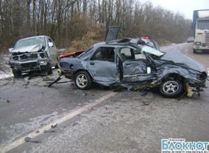 В Динском районе в ДТП пострадали трое