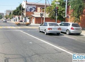 В столице Кубани  виновник аварии скрылся с места происшествия