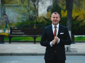 Алексей Гусак принял участие в акции «300 дней с мэром Краснодара Евгением Первышовым»