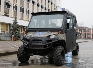 В Краснодаре полицейским купили американский мотовездеход