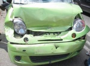 В Красноармейском районе в аварии пострадали маленькие дети
