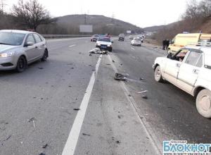 В Новороссийске в аварии погибла девушка